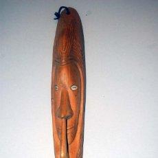 Arte: MASCARA DE PARED DEL LAGO CHAMBRI. PAPUA NUEVA GUINEA. 48 CM. Lote 115902543