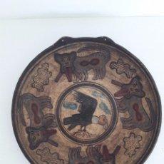 Arte: PLATO INCA EN BARRO.PRECOLOMBIANO.. Lote 116085035