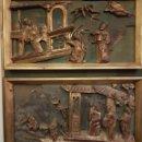 Arte: PAREJA DE RELIEVES CHINOS S.XVIII. Lote 116507892