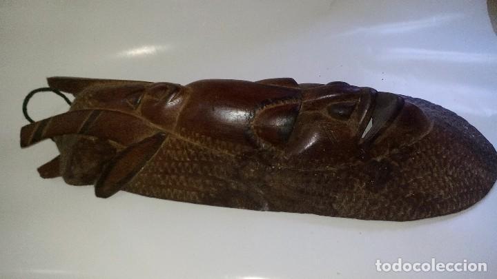 Arte: mascara madera aprox cm 53 largo, 18 ancho, 10 profundo peso 1801 gramos-18 fotos - Foto 7 - 116714379