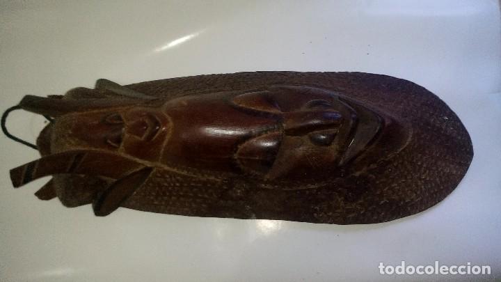 Arte: mascara madera aprox cm 53 largo, 18 ancho, 10 profundo peso 1801 gramos-18 fotos - Foto 8 - 116714379
