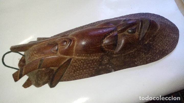Arte: mascara madera aprox cm 53 largo, 18 ancho, 10 profundo peso 1801 gramos-18 fotos - Foto 9 - 116714379