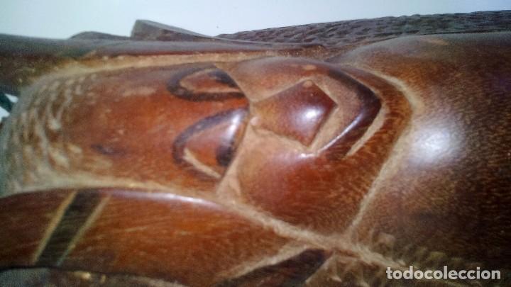 Arte: mascara madera aprox cm 53 largo, 18 ancho, 10 profundo peso 1801 gramos-18 fotos - Foto 12 - 116714379