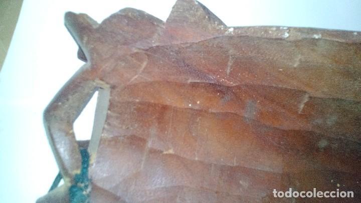 Arte: mascara madera aprox cm 53 largo, 18 ancho, 10 profundo peso 1801 gramos-18 fotos - Foto 17 - 116714379