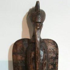Arte: ESCULTURA AFRICANA ANTIGUA , DEL PÁJARO SENUFO DE COSTA DE MARFIL. SENUFO BIRD. IVORY COAST.. Lote 116977939