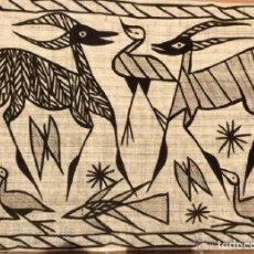 Arte: MARAVILLOSO, GRANDE Y ANTIGUO TAPIZ DE LA CULTURA SENUFO (COSTA DE MARFIL). Lote 119336051