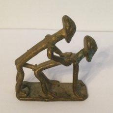 Arte: FIGURA EROTICA BRONCE TRIBU ASHANTI DE GHANA. Lote 121436640