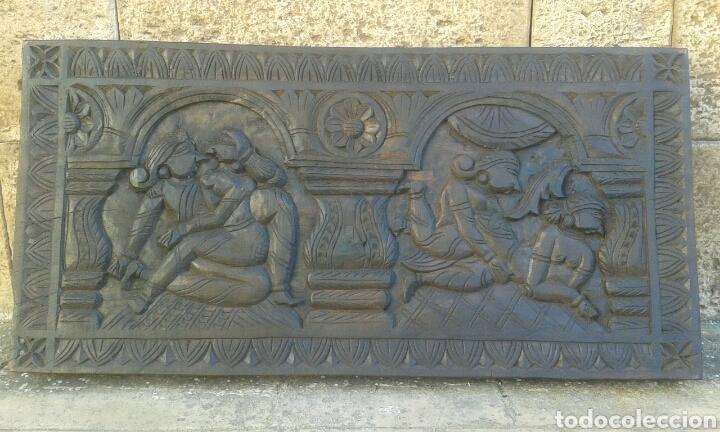 Arte: Cuadro de madera maciza tallado a mano - Foto 4 - 121536859
