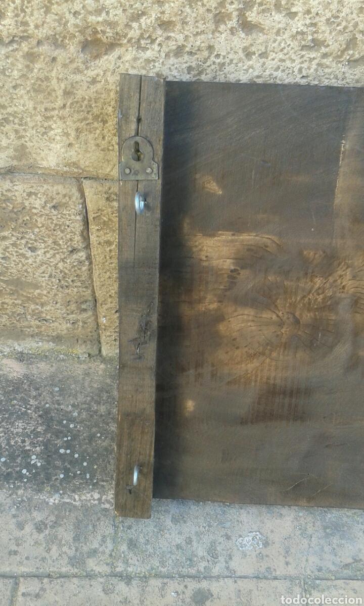 Arte: Cuadro de madera maciza tallado a mano - Foto 8 - 121536859
