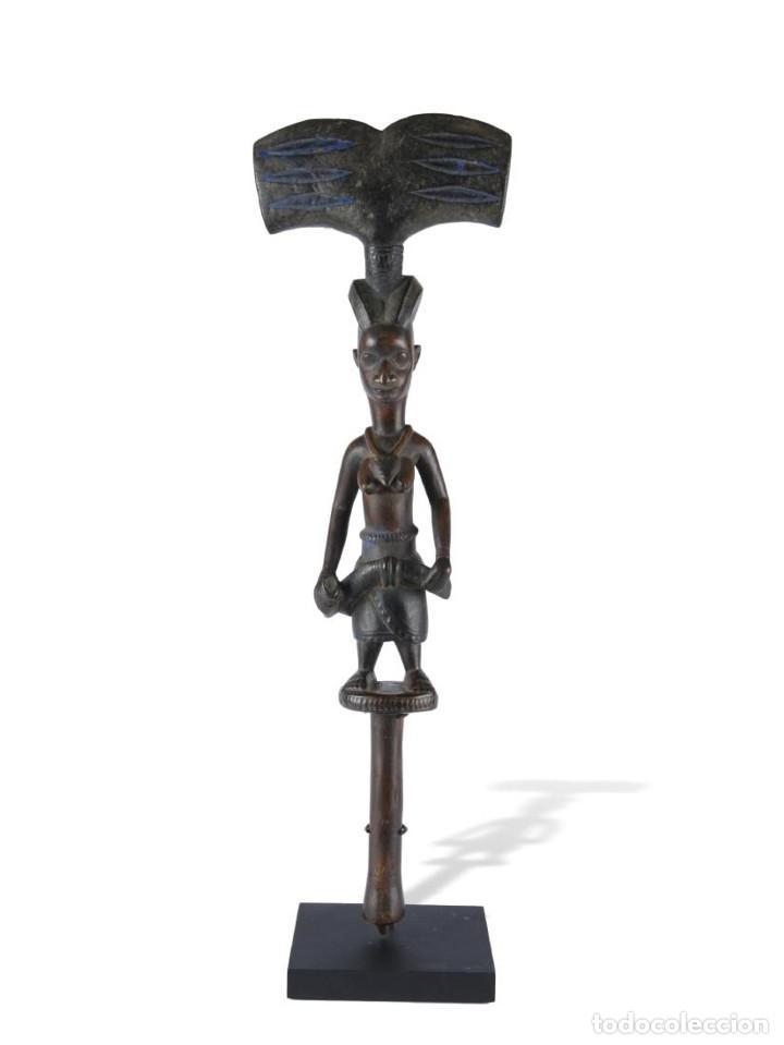 Arte: Arte Africano. Oshe Shango Yoruba. Nigeria. - Foto 3 - 121544659