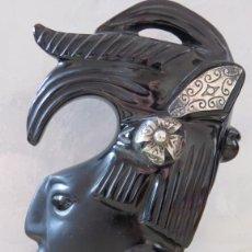 Arte: K'INICH JANAAB' PAKAL - PAKAL EL GRANDE (23 DE MARZO DE 603 - 28 DE AGOSTO DE 683) OBSIDIANA Y PLATA. Lote 123297283