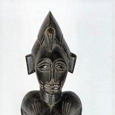 Arte: FETICHE SENUFO, ORIGINARIA DE COSTE DE MARFIL,. Lote 126138275