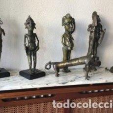 Arte: ESCULTURAS AFRICANAS TRAIDAS A ESPAÑA AÑOS 70. Lote 126268575
