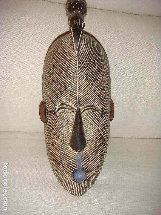Arte: MÁSCARA AFRICANA: TRIBU SONGYE (CONGO) - Foto 2 - 127229759