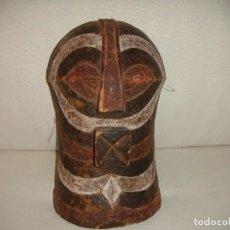 Arte: MÁSCARA AFRICANA: TRIBU SONGYE (CONGO). Lote 127230779