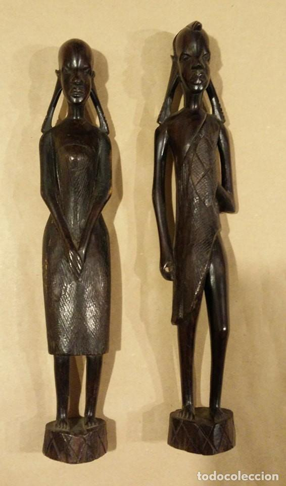 PAREJA ÉTNICA (Arte - Étnico - África)