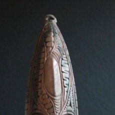 Arte: MASCARA DE PARED DEL LAGO EDEL. PAPUA NUEVA GUINEA. Lote 127918927