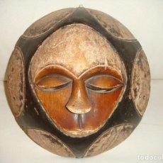 Arte: MÁSCARA AFRICANA: TRIBU EKET (NIGERIA). Lote 127921031