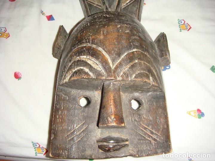 Arte: MÁSCARA AFRICANA: TRIBU GREBO (LIBERIA) - Foto 5 - 128001495