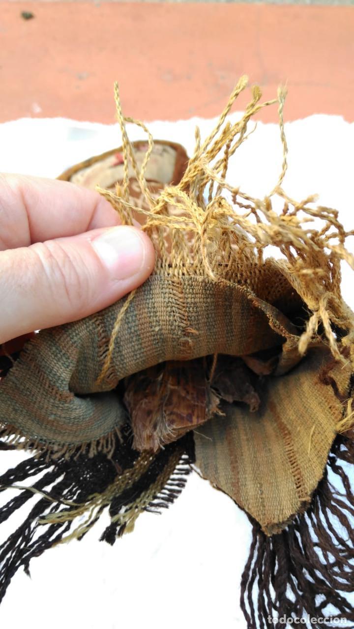 Kunst: Muñeca Artesanal Peru Chancay siglo XX con textiles probablemente antiguos BPY - Foto 4 - 128783087