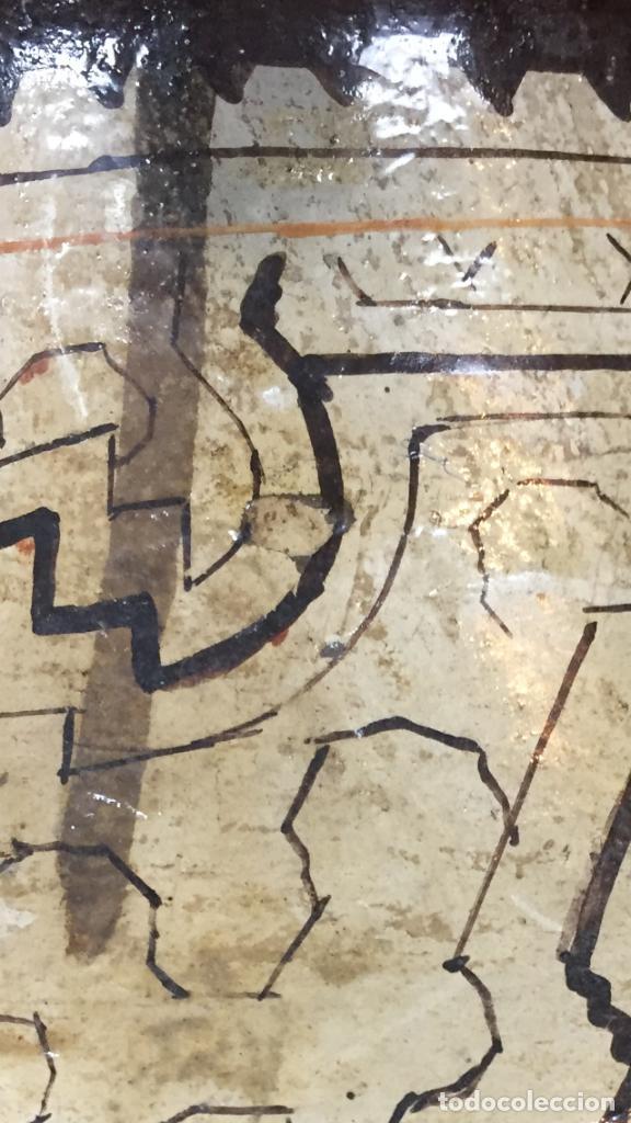 Arte: JARRON CERAMICA SHIPIBO CONIBO AMAZONIA INDIOS PERU MAHUETA ARTESANAL ANTIGUA PPIO S XX 22X26CMS - Foto 17 - 129346739
