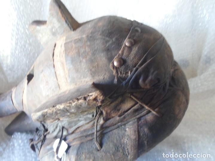 Arte: ARTE ÉTNICO AFRICANO. MASCARA. ETNIA BAMBARA. MALÍ. ÁFRICA. - Foto 13 - 130626990