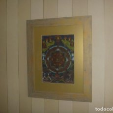 Arte: TIBETAN THANGKA HIGHEST TANTRA YOGA CHAKRASAMVARA & VAJRAVARAHI 18TH CENTURY YAB YUM MUSEUM PIECE. Lote 130633770