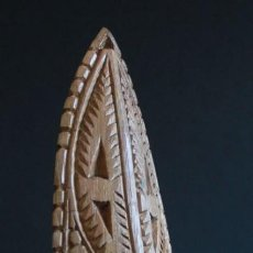 Arte: MASCARA TRIBAL DEL LAGO CHAMBRI. PAPUA NUEVA GUINEA. Lote 130782060