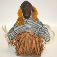 Arte: FIGURA (BAULE) COSTA DE MARFIL ARTE AFRICANO.. Lote 131537914