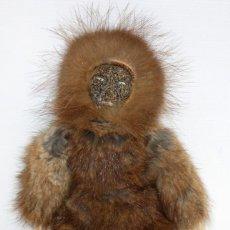 Arte: MUY RARO MUÑECO ESQUIMAL DE (UMIAT) EN ALASKA .. Lote 131599786