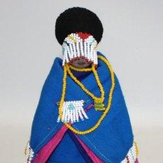 Arte: NOVIA SUDAFRICANA DE LA TRIBU ZULU.. Lote 131930478