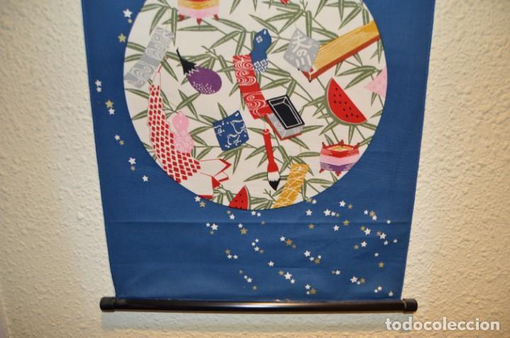 Arte: TANGKHA JAPON - ESTANDARTE JAPONES - INEDITO - UNICO EN TC - Foto 8 - 132017706
