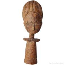 Kunst - Figura de fertilidad vintage Akua'ba - ASHANTI - Ghana, arte tribal, madera tallada, Arte Africano - 132244010