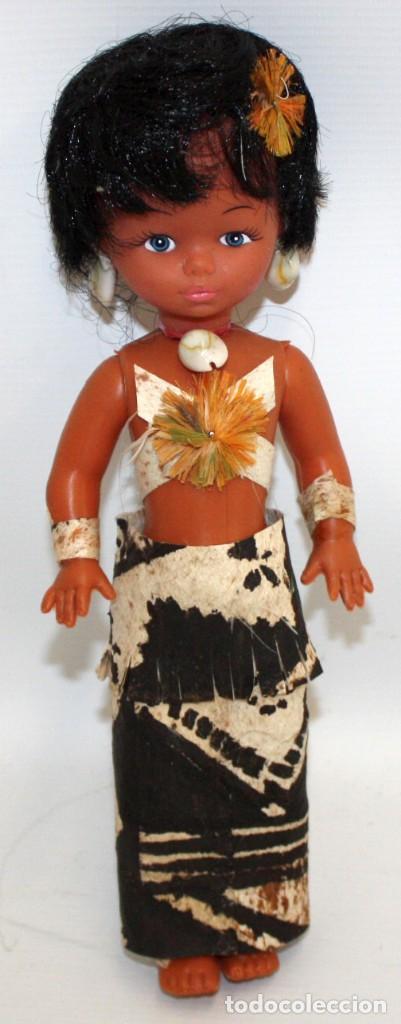 BONITA MUÑECA MAORÍ DE NUEVA ZELANDA. (Arte - Étnico - Oceanía)