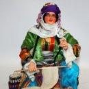 Arte: VENDEDORA AMBULANTE DE PAN DE TURQUIA .(IMPRESIONANTE).. Lote 133064170