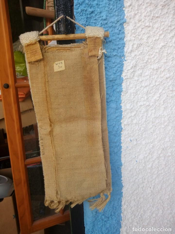 Arte: Bonito tapiz hecho de lana ,africa.fibras naturales. - Foto 5 - 133343486
