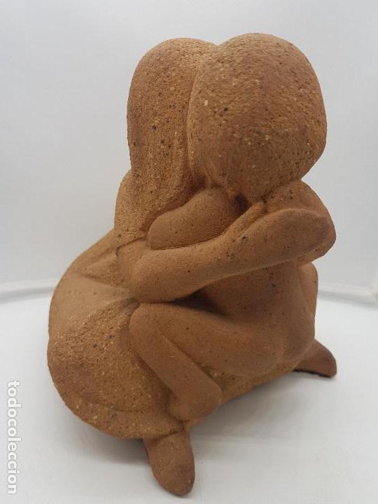 Arte: Maravillosa gran escultura antigua hecha en Perú MATERNIDAD - Foto 8 - 133462898