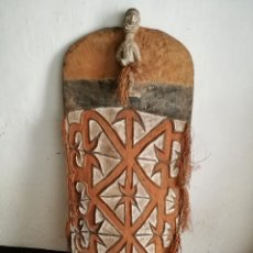 Arte: ESCUDO ASMAT- NUEVA GUINEA- AÑOS 50. Lote 134069122
