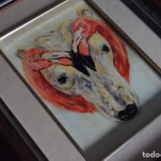 Arte: TROMPE L'OEIL OSO Y FLAMENCOS DE CARLOS OLIVEIRA. Lote 134178646