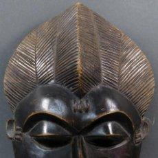 Arte: MÁSCARA AFRICANA EN MADERA TALLADA SIGLO XIX. Lote 213244255