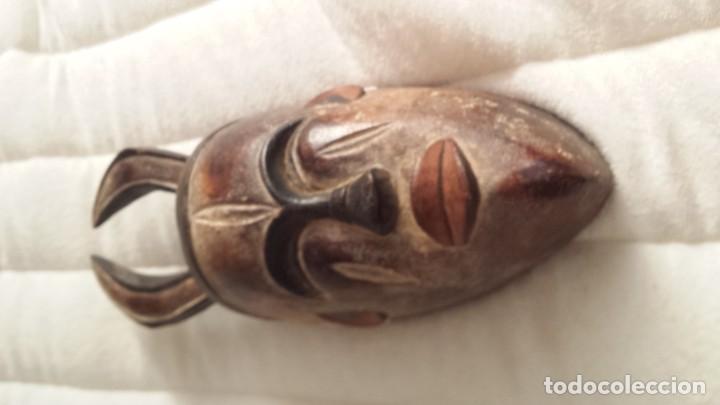 MÁSCARA AFRICANA: TRIBU YAKA (CONGO) (Arte - Étnico - África)