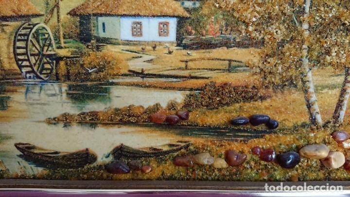 Arte: CUADRO PIEDRAS DE AMBAR NATURAL - Foto 3 - 137112890