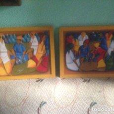 Arte: 2 CUADROS ORIGINALES Y FIRMADOS.. Lote 137420889