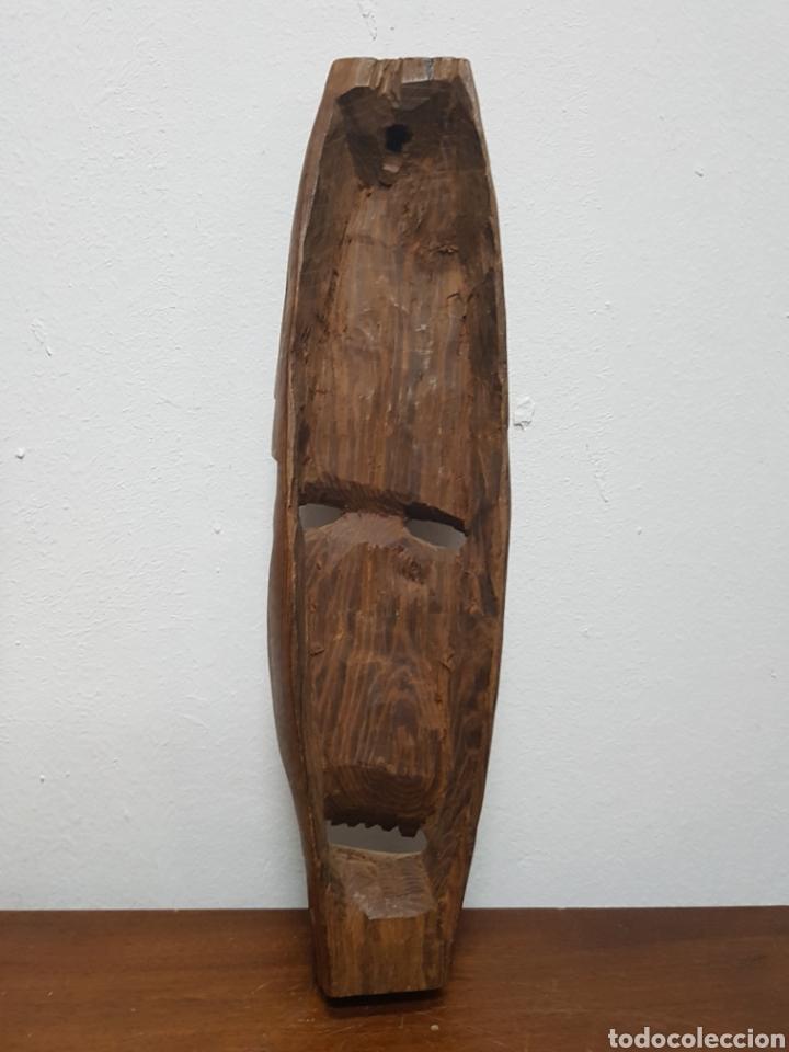 Arte: Máscara talla madera africana - Foto 4 - 138232570