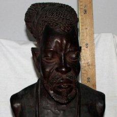 Arte: BUSTO HOMBRE, GUINEA ECUATORIAL, FANG. Lote 138671614