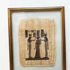 Arte: CUADRO GRANDE PAPIRO EGIPCIO. Lote 138840022
