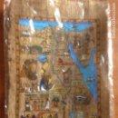 Arte: FINA PINTURA EGIPCIA PAPEL SIMILAR A CORTEZA. Lote 139115386