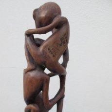 Arte: ANTIGUA TALLA EN MADERA DE BALI (INDONESIA). Lote 139228122