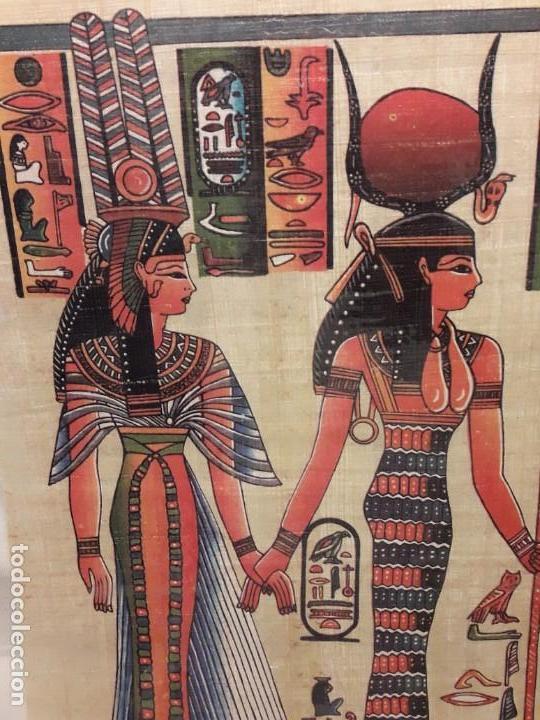 Arte: Antiguo papiro Egipcio plastificado - Foto 4 - 140338922