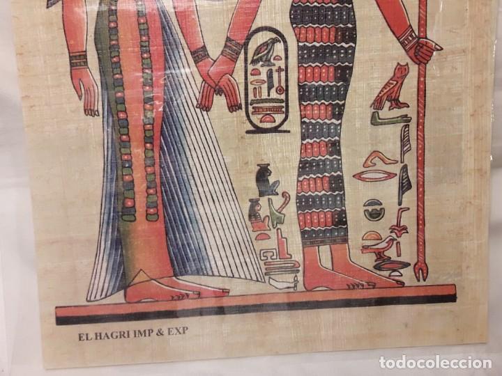 Arte: Antiguo papiro Egipcio plastificado - Foto 5 - 140338922